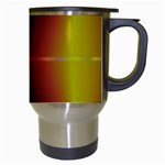 Abstract Painting Travel Mugs (White) Right