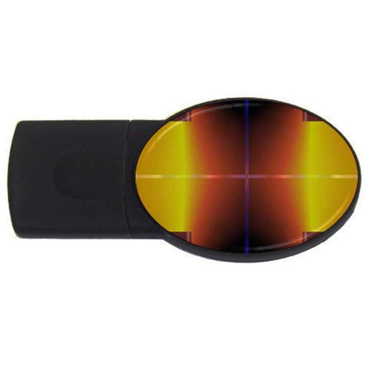 Abstract Painting USB Flash Drive Oval (4 GB)