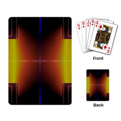Abstract Painting Playing Card