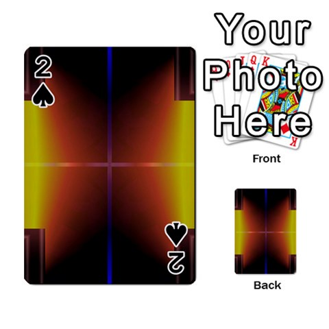 Abstract Painting Playing Cards 54 Designs