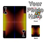 Abstract Painting Playing Cards 54 Designs  Front - Spade7