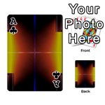 Abstract Painting Playing Cards 54 Designs  Front - ClubA