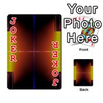 Abstract Painting Playing Cards 54 Designs  Front - Joker2