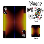 Abstract Painting Playing Cards 54 Designs  Front - Spade9