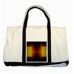Abstract Painting Two Tone Tote Bag Front