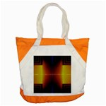 Abstract Painting Accent Tote Bag Front