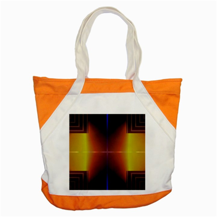 Abstract Painting Accent Tote Bag