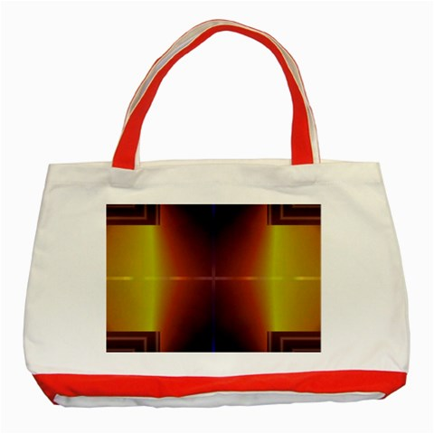 Abstract Painting Classic Tote Bag (Red)
