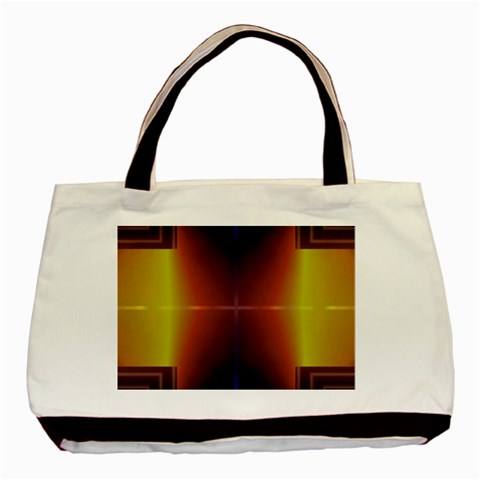 Abstract Painting Basic Tote Bag (Two Sides)