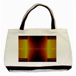 Abstract Painting Basic Tote Bag (Two Sides) Front