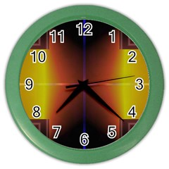 Abstract Painting Color Wall Clocks