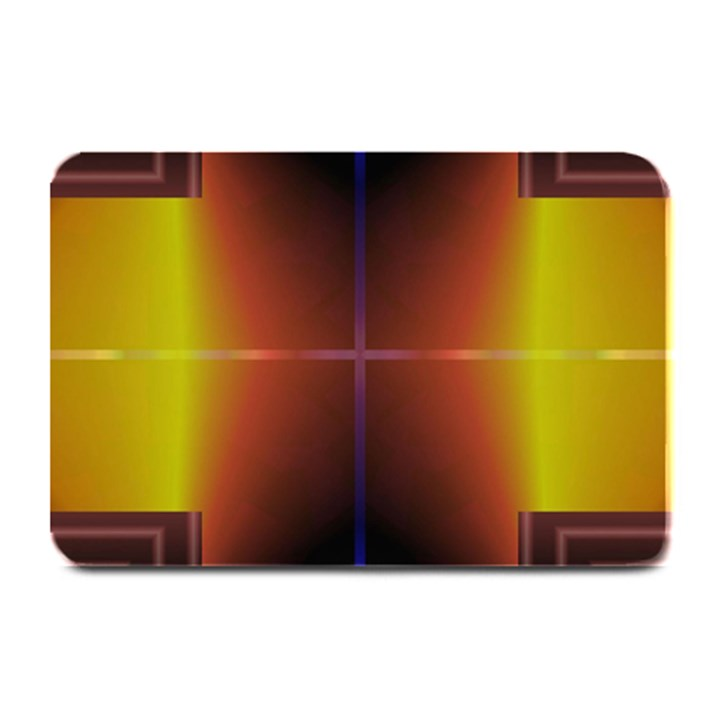 Abstract Painting Plate Mats