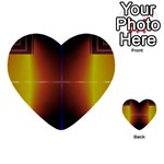 Abstract Painting Multi-purpose Cards (Heart)  Front 29
