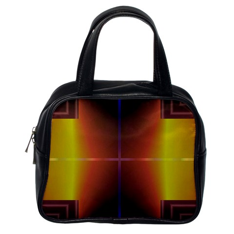 Abstract Painting Classic Handbags (One Side)