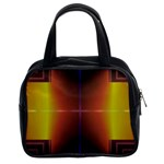 Abstract Painting Classic Handbags (2 Sides) Front