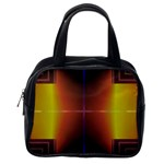 Abstract Painting Classic Handbags (2 Sides) Back