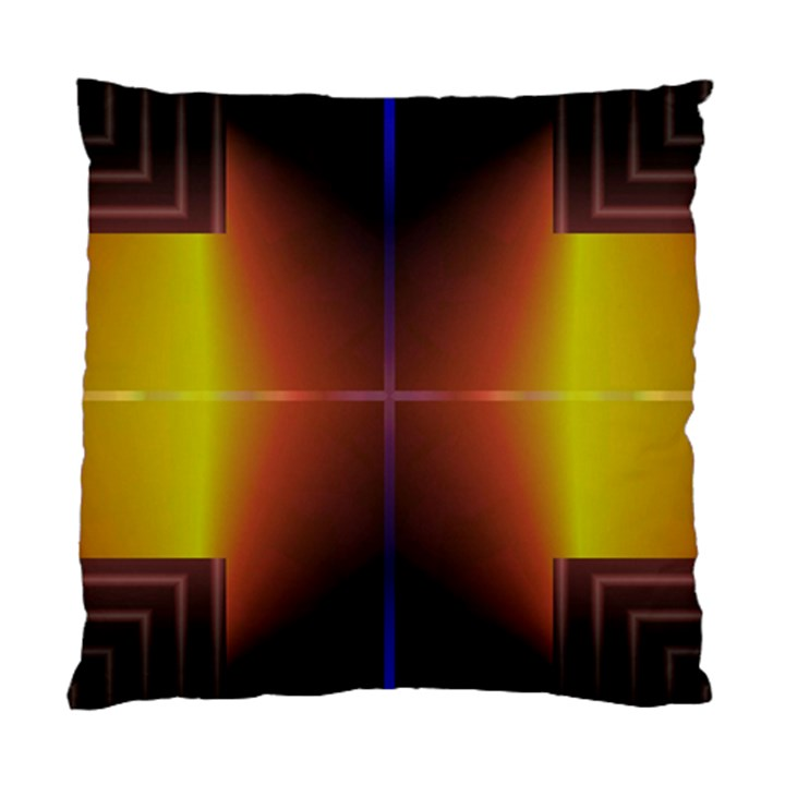Abstract Painting Standard Cushion Case (One Side)