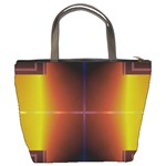 Abstract Painting Bucket Bags Back