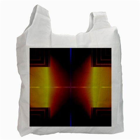 Abstract Painting Recycle Bag (Two Side)