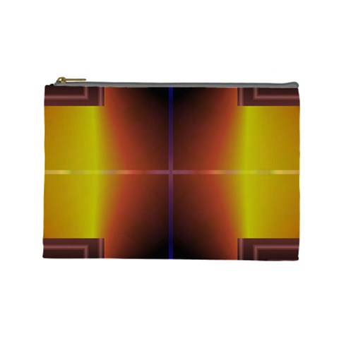Abstract Painting Cosmetic Bag (Large)