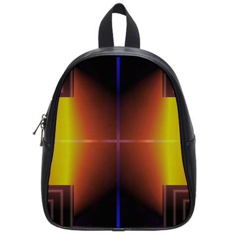 Abstract Painting School Bags (Small)