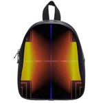 Abstract Painting School Bags (Small)  Front
