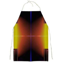 Abstract Painting Full Print Aprons