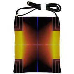 Abstract Painting Shoulder Sling Bags