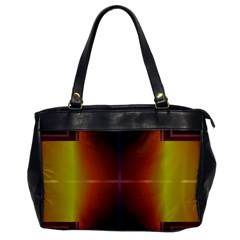 Abstract Painting Office Handbags