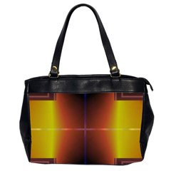 Abstract Painting Office Handbags (2 Sides)