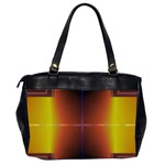 Abstract Painting Office Handbags (2 Sides)  Back