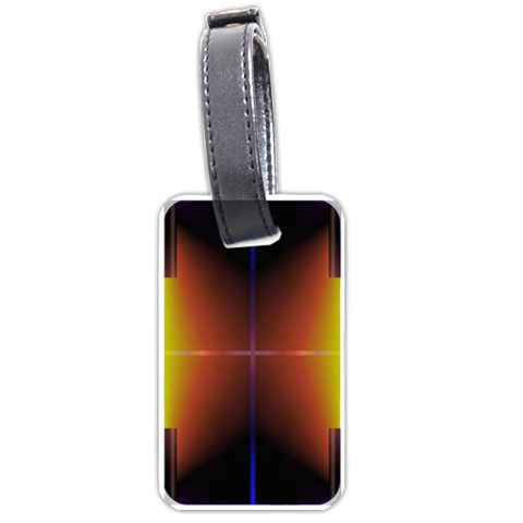 Abstract Painting Luggage Tags (Two Sides)