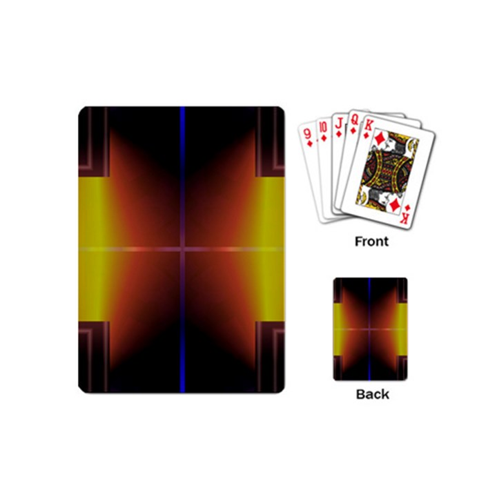Abstract Painting Playing Cards (Mini)