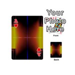 Abstract Painting Playing Cards 54 (Mini)  Front - HeartA