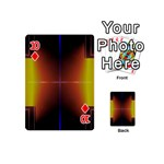Abstract Painting Playing Cards 54 (Mini)  Front - Diamond10
