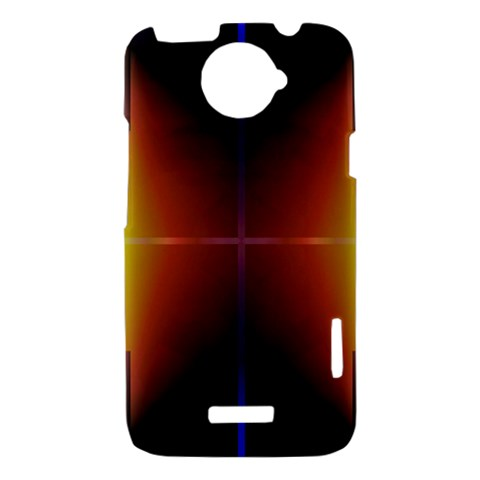 Abstract Painting HTC One X Hardshell Case