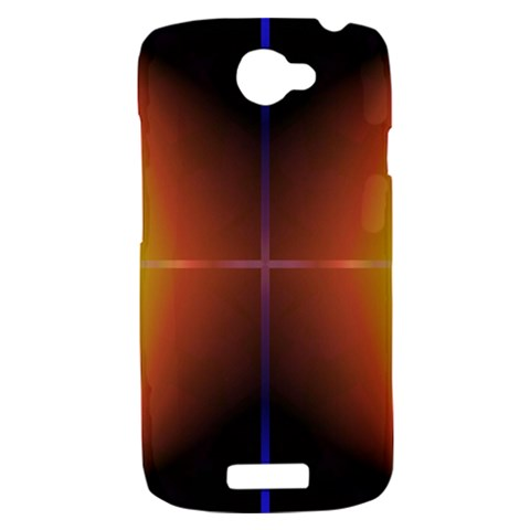 Abstract Painting HTC One S Hardshell Case