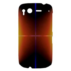 Abstract Painting HTC Desire S Hardshell Case
