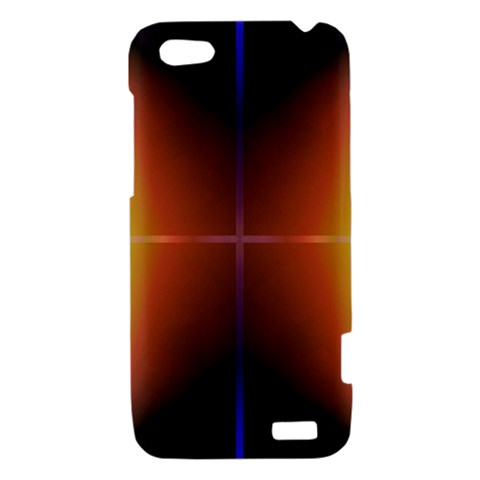 Abstract Painting HTC One V Hardshell Case