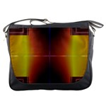 Abstract Painting Messenger Bags Front