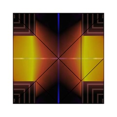 Abstract Painting Acrylic Tangram Puzzle (6  x 6 )