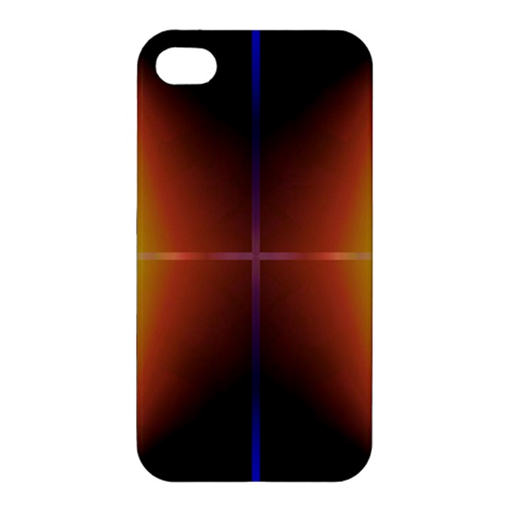 Abstract Painting Apple iPhone 4/4S Premium Hardshell Case