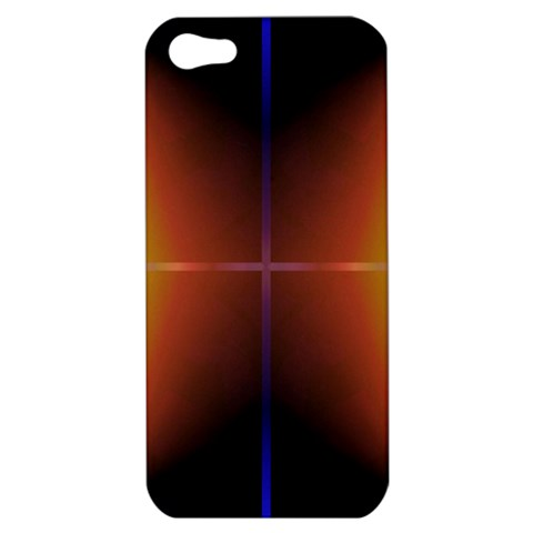 Abstract Painting Apple iPhone 5 Hardshell Case