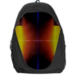 Abstract Painting Backpack Bag Front