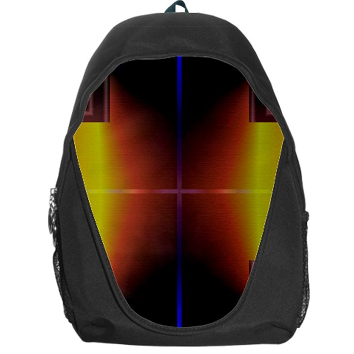 Abstract Painting Backpack Bag