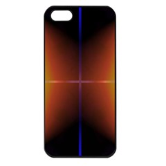 Abstract Painting Apple iPhone 5 Seamless Case (Black)