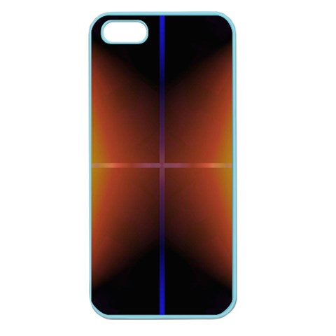 Abstract Painting Apple Seamless iPhone 5 Case (Color)