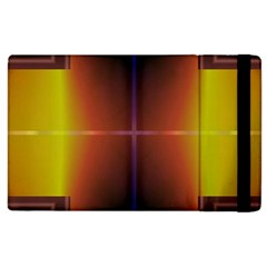Abstract Painting Apple iPad 3/4 Flip Case
