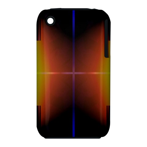 Abstract Painting Apple iPhone 3G/3GS Hardshell Case (PC+Silicone)