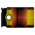 Abstract Painting Apple iPad 2 Flip 360 Case Front